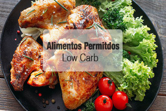 3 alimentos Low Carb permitidos
