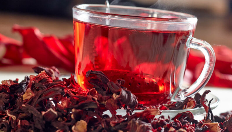 Chá de hibisco como fazer para emagrecer