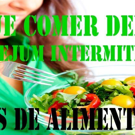 Alimentos indicados para quebrar o Jejum Intermitente