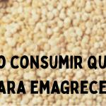 Como consumir quinoa para emagrecer