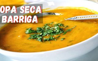Receita de Sopa Seca Barriga